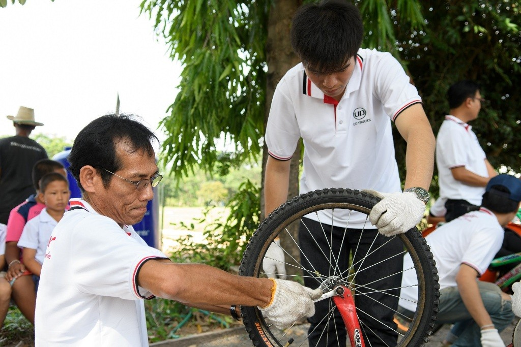 bicycle fixing