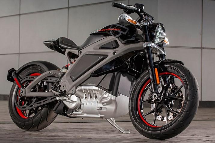 Harley-Davidson Live Wire รถจักรยานยนต์พลังไฟฟ้า