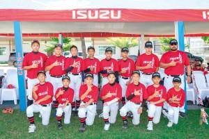 อีซูซุ สนับสนุนเบสบอลยุวชน