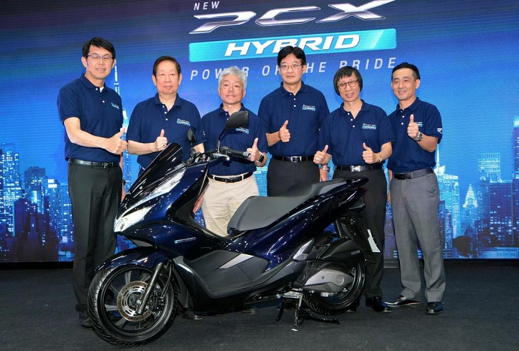 เอ.พี. ฮอนด้าฯ เปิดตัว New Honda PCX Hybrid รถจักรยานยนต์ไฮบริดรุ่นแรกที่ใช้แบทเตอรีลิเธียม-ไอออน