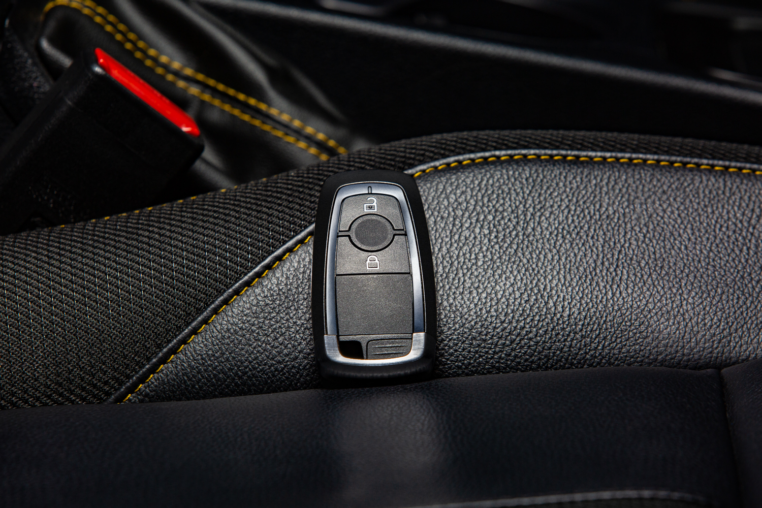 Car Key on the seat