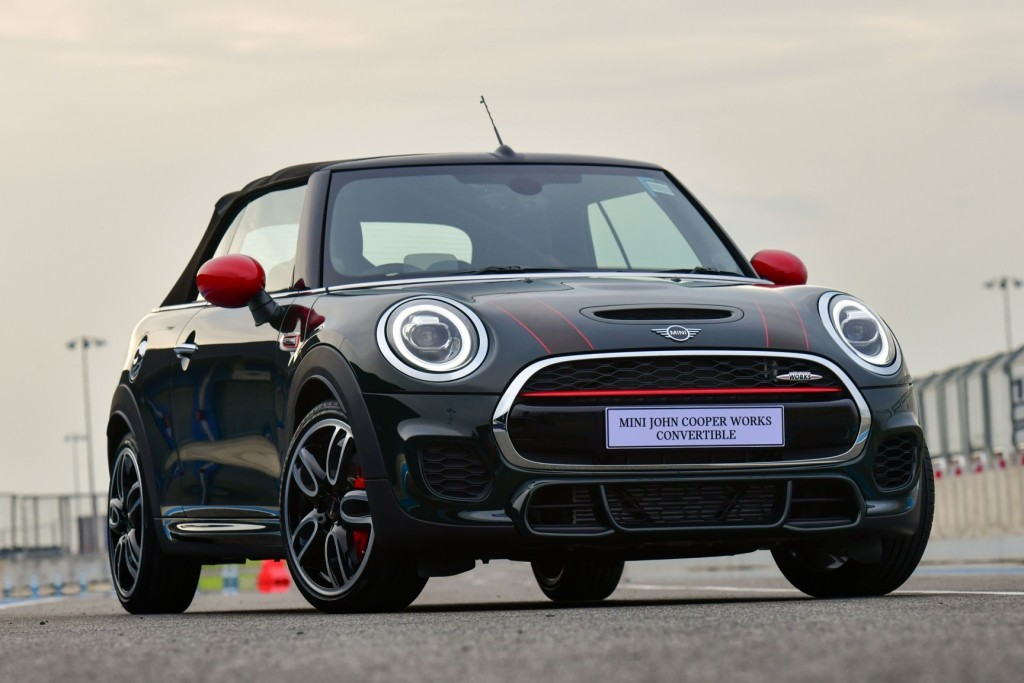 MINI John Cooper Work Convertible 2018