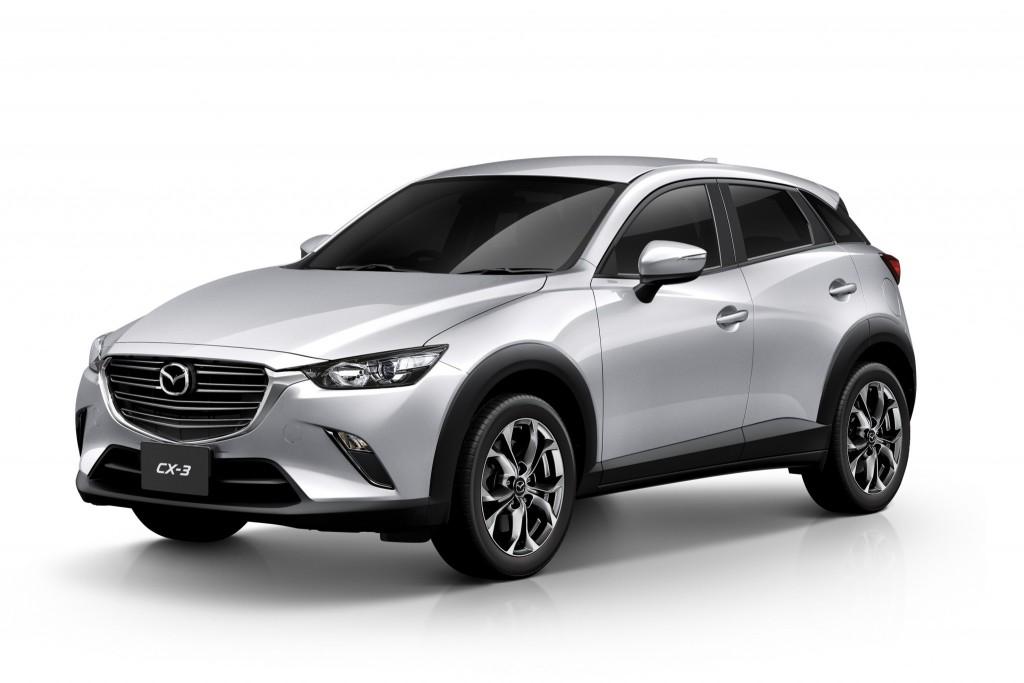 Mazda CX-3 2.0 E_Front