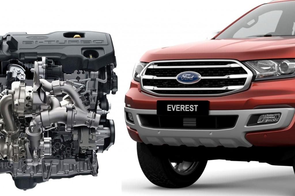Ford Everest ยกเครื่องขุมพลังใหม่หมด แตกต่างจากบลอคเดิมแค่ไหน มาดูกัน