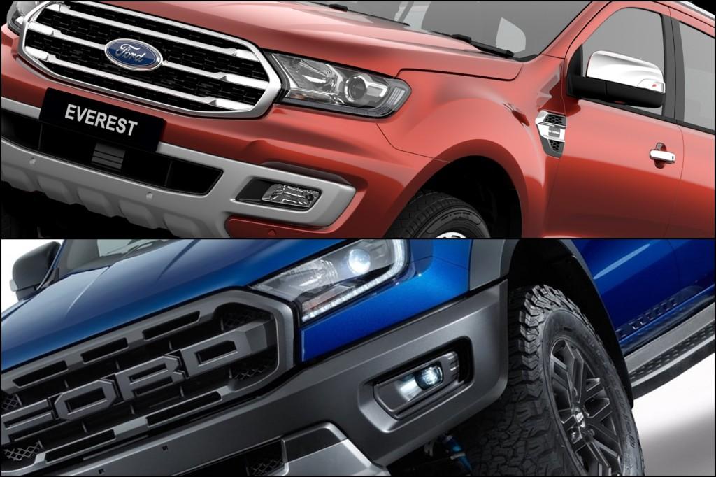 ชีวิตต้องเลือก ! ทีเด็ดจากค่าย Ford ระหว่าง Everest (Bi-Turbo) เอสยูวีครบเครื่อง หรือ Ranger Raptor กระบะตัวแรง เขี้ยวเล็บดุดัน !?! กับค่าตัวที่ใกล้เคียงกัน