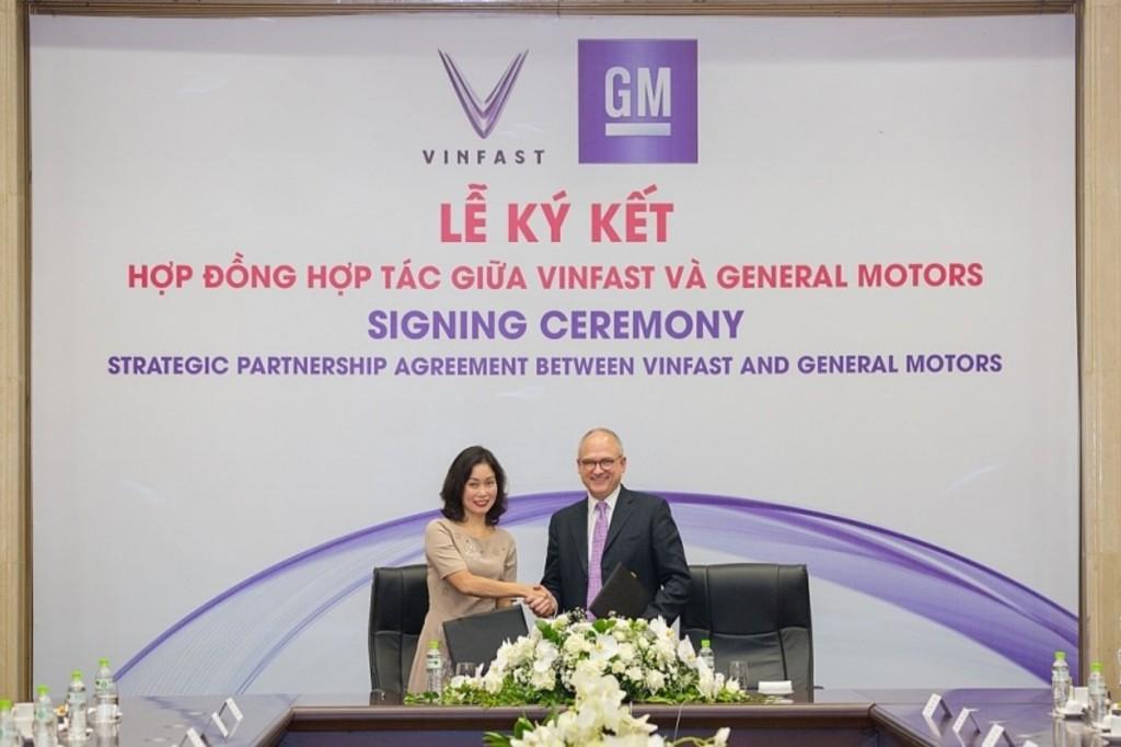 GM เซ็นสัญญากับ Vinfast
