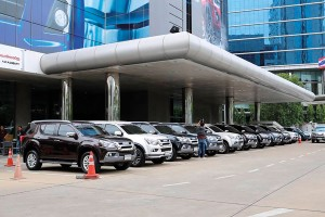 อีซูซุ จัดกิจกรรม MU-X PRIVILEGED PRESS TRIP