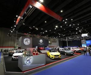 เอมจี ยกขบวนความสมาร์ท พร้อมข้อเสนอสุดพิเศษ งาน Big Motor Sales 2018