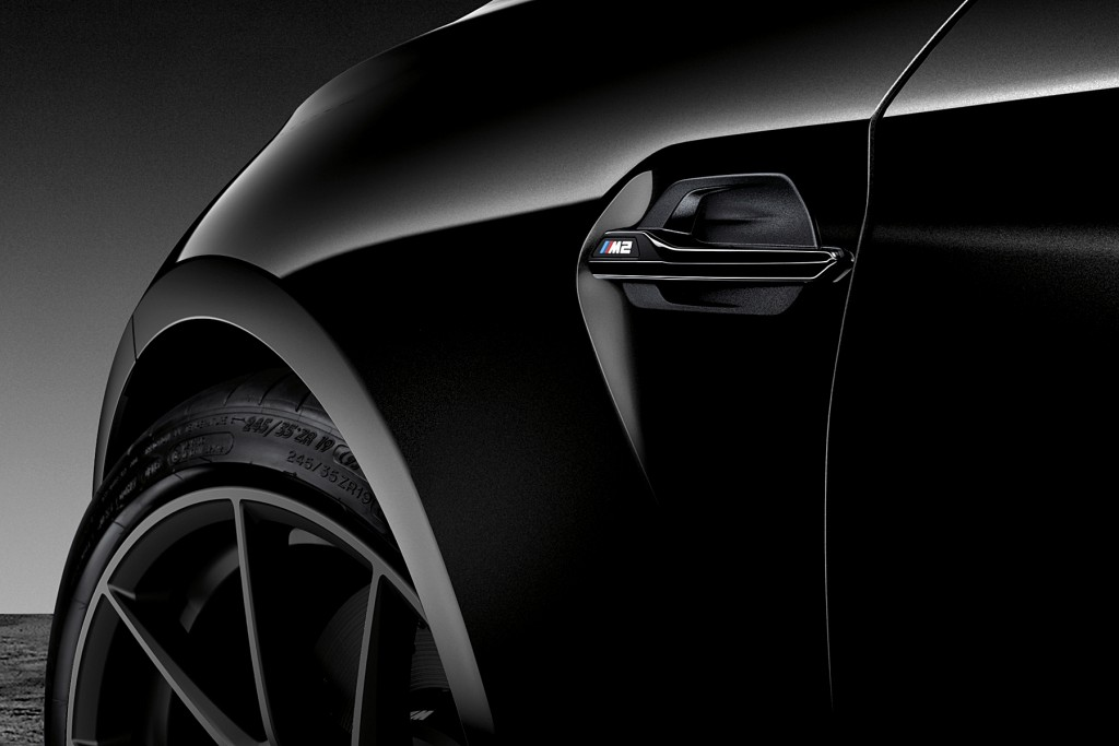 The new BMW M2 Edition Black Shadow (6)
