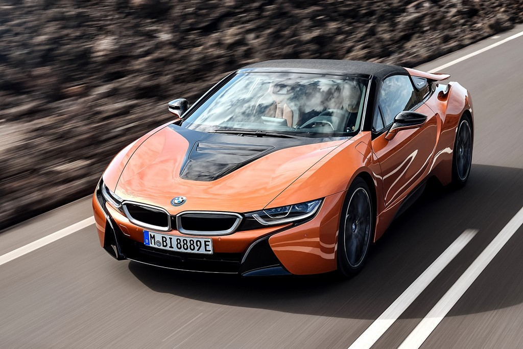 The new BMW i8 Roadster (1)