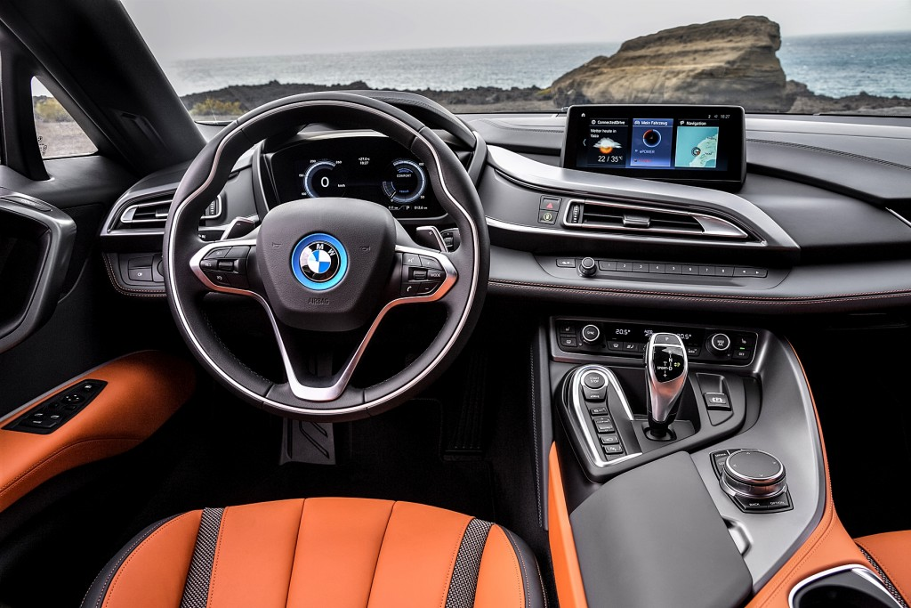 The new BMW i8 Roadster (3)