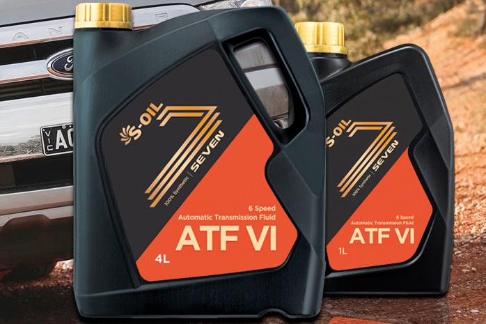 นํ้ามันเกียร์ S-OIL รุ่น SEVEN ATF VI