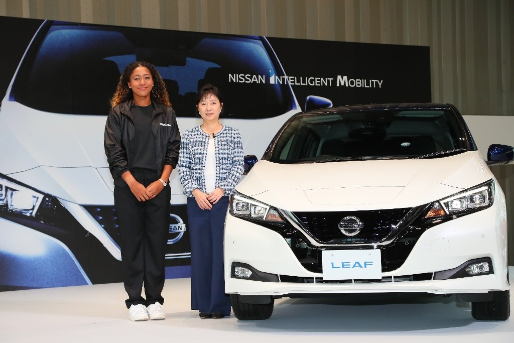 2.Grand Slam champion Naomi Osaka joins Nissan as brand ambassador