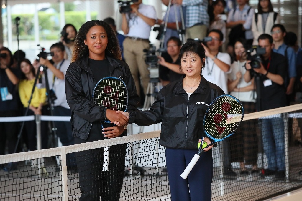 3.Grand Slam champion Naomi Osaka joins Nissan as brand ambassador