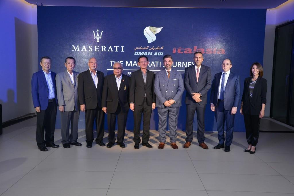 มาเซราตี เปิดตัวกิจกรรม Maserati Customer Journey