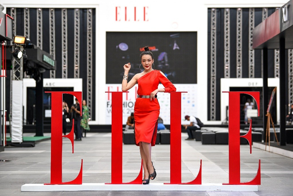Honda Lady at Elle Fashion Week 2018 (1)