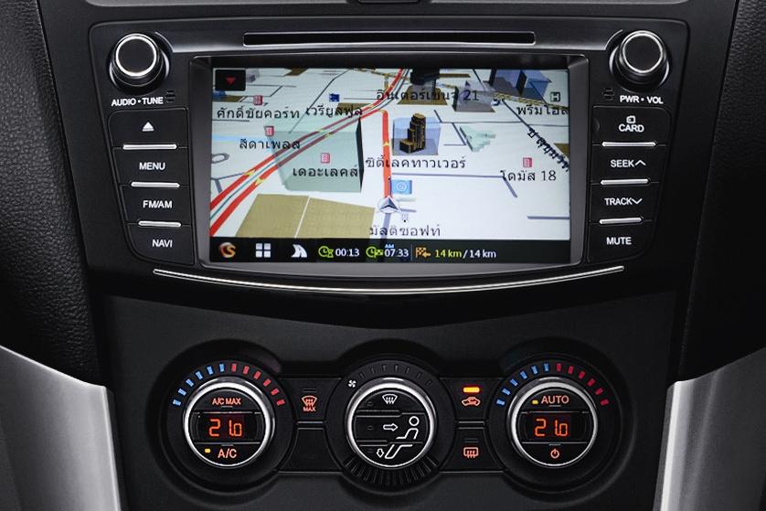 Mazda BT-50 Pro Console Navigator