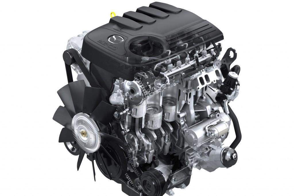 Mazda BT-50 Pro Engine