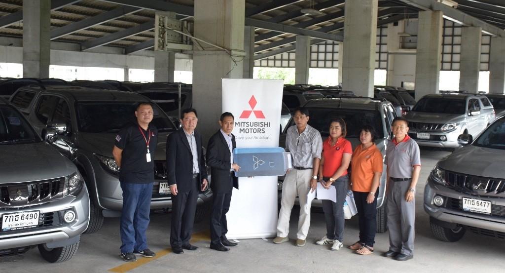 Mitsubishi Motors Thailand delivered Triton to DPT