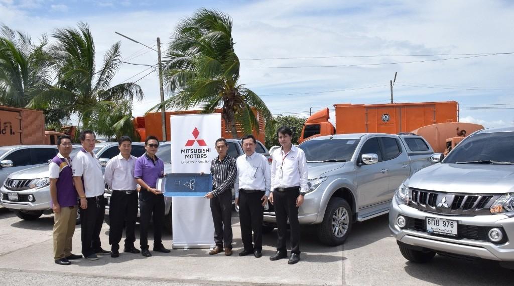 Mitsubishi Motors Thailand delivered Triton to PEA