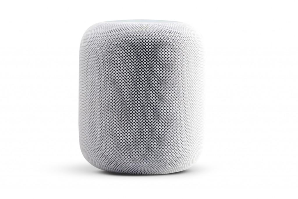 An Apple HomePod smart speaker, taken on March 20, 2018. (Photo by Neil Godwin/T3 Magazine)