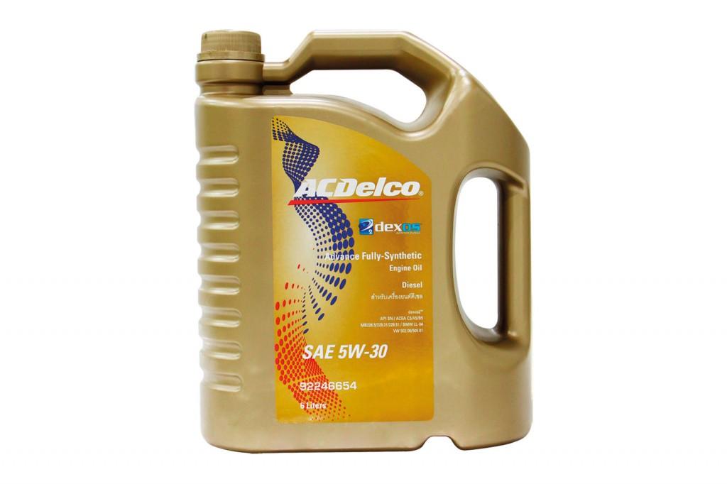 น้ำมันเครื่อง ACDELCO รุ่น DEXOS 2