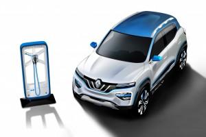 Renault แนะนำ K-ZE รถไฟฟ้ารุ่นประหยัด