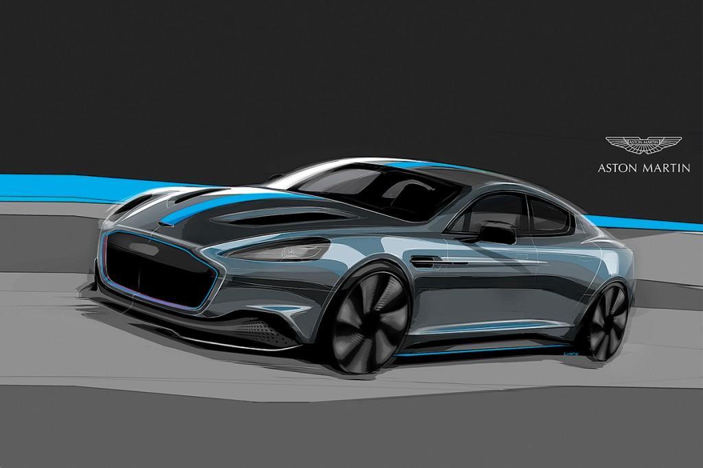 155 คือ จำนวนยอดผลิต ของ Aston Martin Rapide E