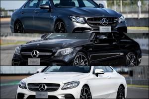 โค้งสุดท้ายของปี Mercedes-Benz มีทีเด็ด 3 รุ่นรวด ! เรียงลำดับความแรง ตั้งแต่ Mercedes-AMG E63 S 4Matic+ , Mercedes-AMG C43 4Matic Coupé และ Mercedes-Benz C200 Coupe AMG Dynamic
