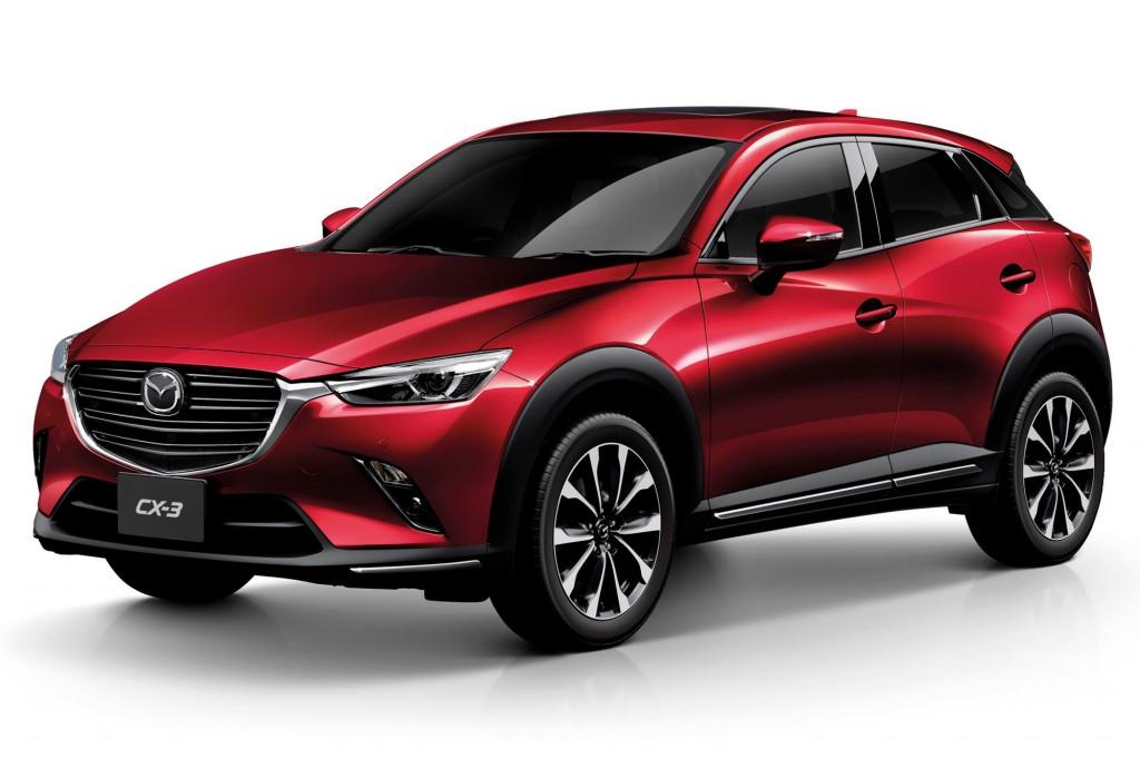 Mazda CX-3 Soul Red Crystal copy