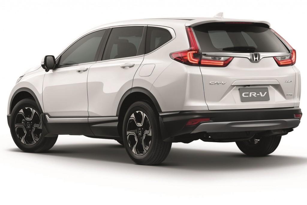 New Honda CR-V_Petrol_Rear
