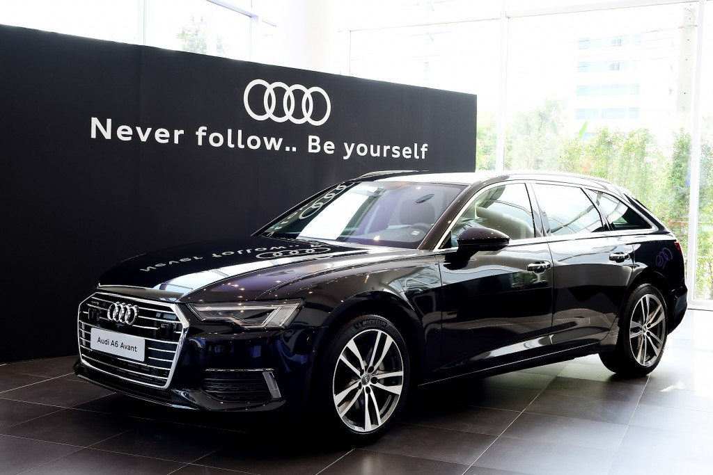 Preview  Audi new Model (The new Audi A6 Avant)__004