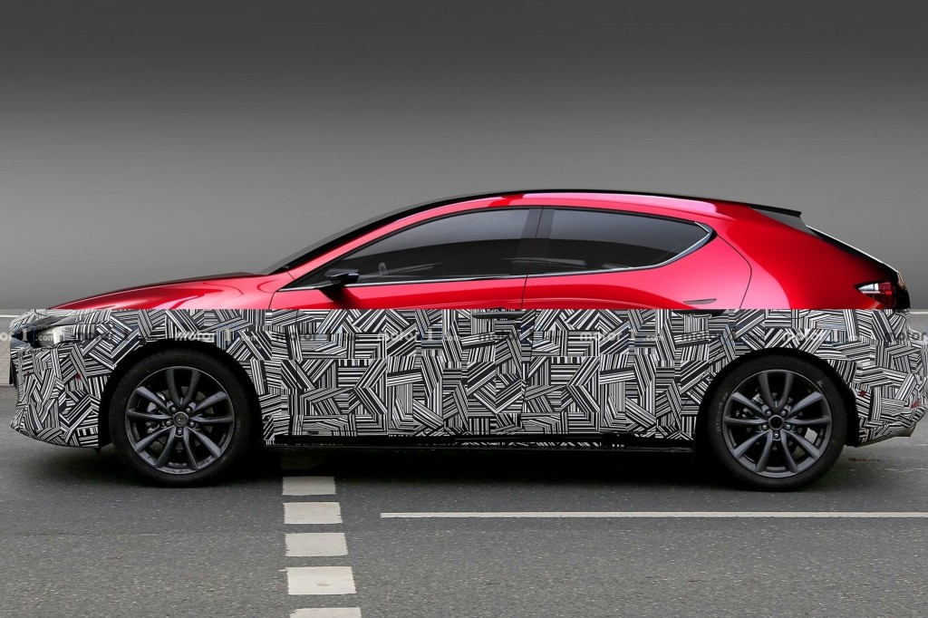 เขากำลังจะมา.. Mazda 3 รุ่นใหม่ เปิดตัวปลายปีนี้ที่เมืองนอก !