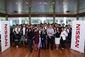 นิสสัน เสริมเขี้ยวเล็บด้านอาชีพแก่นักศึกษาไทยรุ่นใหม่