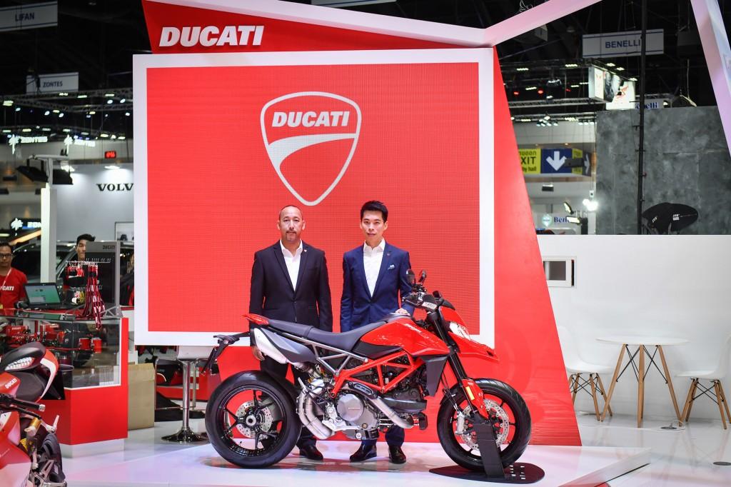 โค้งสุดท้ายกับ Promotion พิเศษ ! ที่บูธ Ducati ในงาน Motor Expo 2018