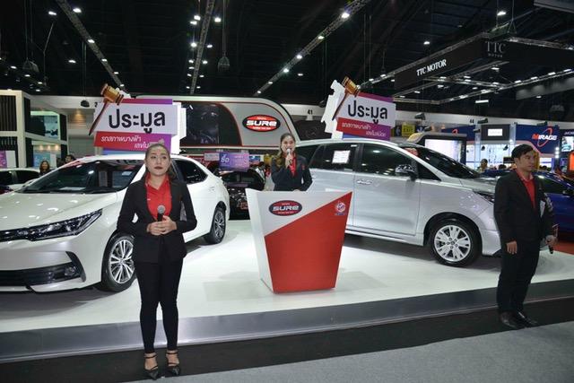 โตโยตา ชัวร์ จัดประมูลรถเลขไมล์น้อย 12 วัน 18 คัน ในงาน Motor Expo 2018