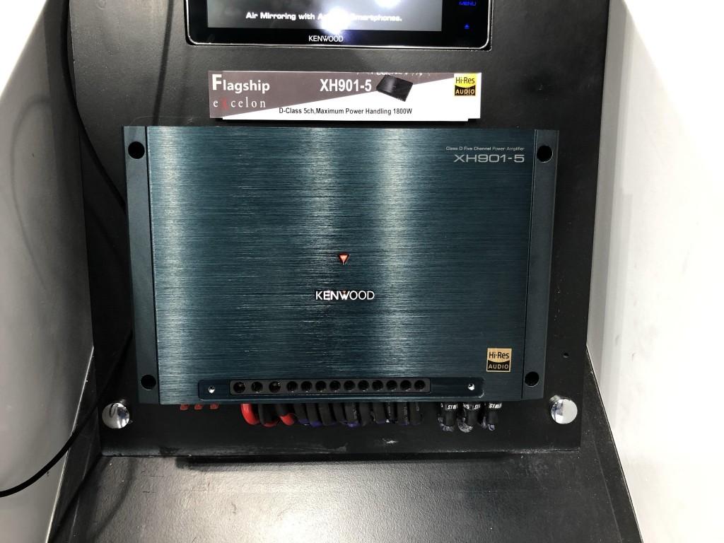 Kenwood XH901-5 แอมพ์ตัวเล็ก เสียงดัง