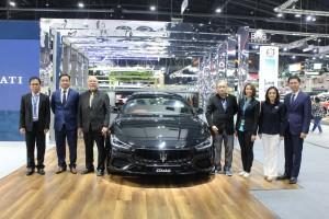มาเซราตี ร่วมงาน Motor Expo 2018