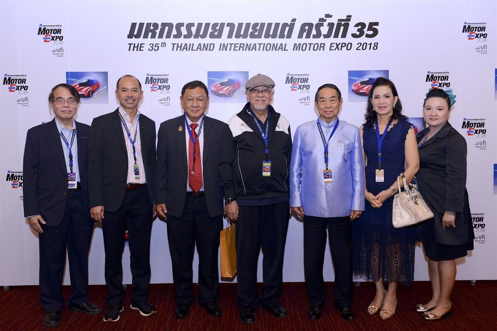 Motor Expo 2018 ต้อนรับ พลเอกเชษฐา ฐานะจาโร