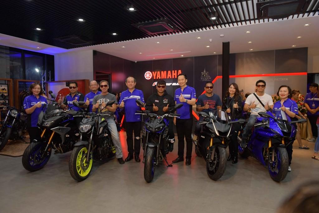 12 ยามาฮ่ารุกตลาดบิ๊กไบค์ต่อเนื่องเปิดโชว์รูม Yamaha Riders' club Pattaya