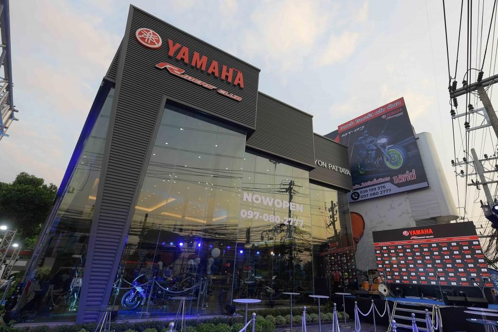 16 ยามาฮ่ารุกตลาดบิ๊กไบค์ต่อเนื่องเปิดโชว์รูม Yamaha Riders' club Pattaya