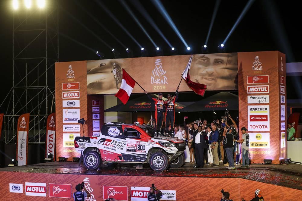 โตโยตา คว้าแชมพ์ Dakar Rally 2019