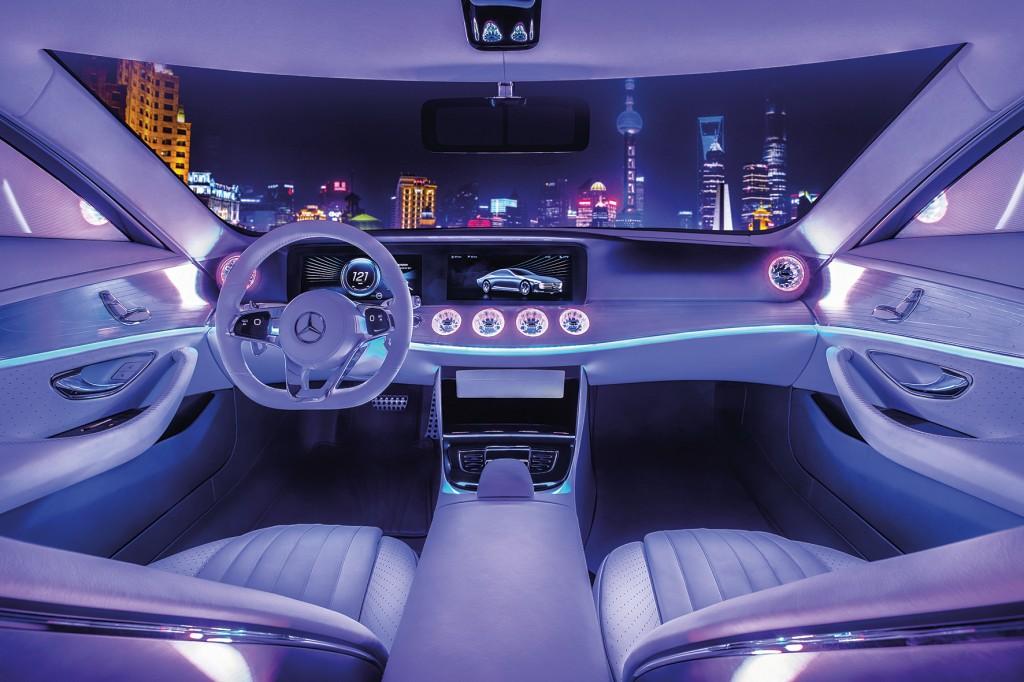 Mercedes-Benz Concept IAA in Shanghai 2016 ; Mercedes-Benz Concept IAA in Shanghai 2016;