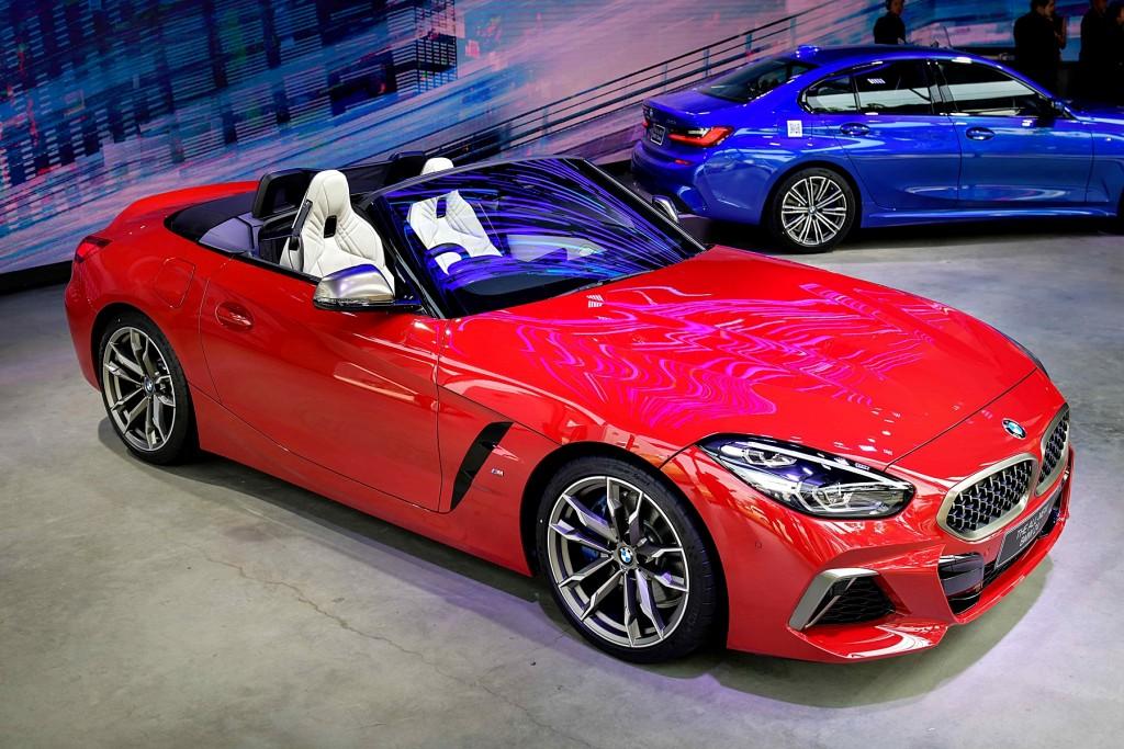 BMW Annual Press Con (9) BMW Z4 M40i