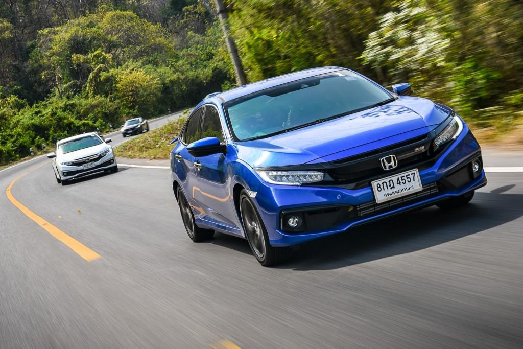 ทดลองขับ Honda Civic รุ่น RS ดูดี เครื่องแรง ยังไม่พอ.. ระบบความปลอดภัยต้องจัดเต็มด้วย !