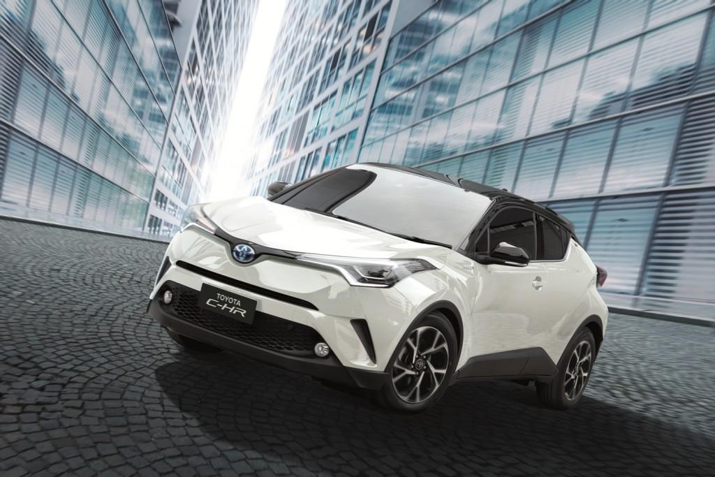 Toyota C-HR รุ่นปรับปรุงใหม่