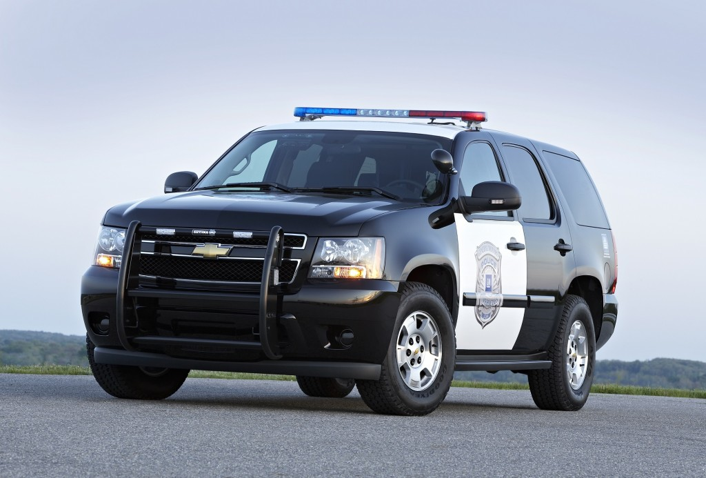 2012 Chevrolet Tahoe Police Special Service Vehicle 4WD exterior