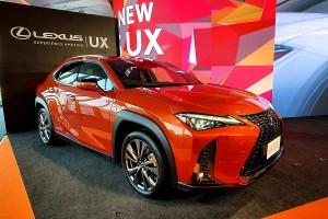 เปิดตัว Lexus UX ครอสส์โอเวอร์น้องเล็กประจำค่าย ขุมพลังไฮบริด ออพชันโดนใจ ! ราคา 2,490,000-3,620,000 บาท