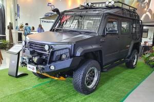Thairung Transformer 2 ตัวลุยรูปทรงล้ำสมัย อุปกรณ์จัดเต็ม เสริมทัพด้วยรุ่น 2.8 4WD AT กำลังสูงสุด 177 แรงม้า ราคา 2,220,000 บาท