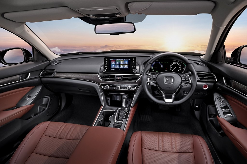 All-new Accord_Main Console